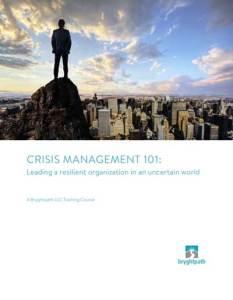 Crisis-Management-101-Cover-400x516 Crisis Management 101 eBook Cover
