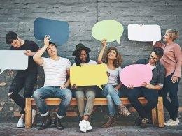 Social Media Public Relations Comment Bubbles