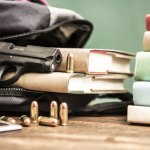 School Threats - Gun, Bullets, and Books