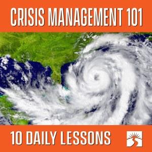 Crisis Management 101 600x600
