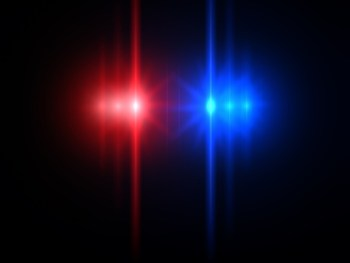 Dark Background Police Lights 800x800