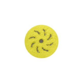 Rupes BigFoot Yellow Medium Microfiber Cutting Pad 80/100 mm Velcro 9.BF100XM