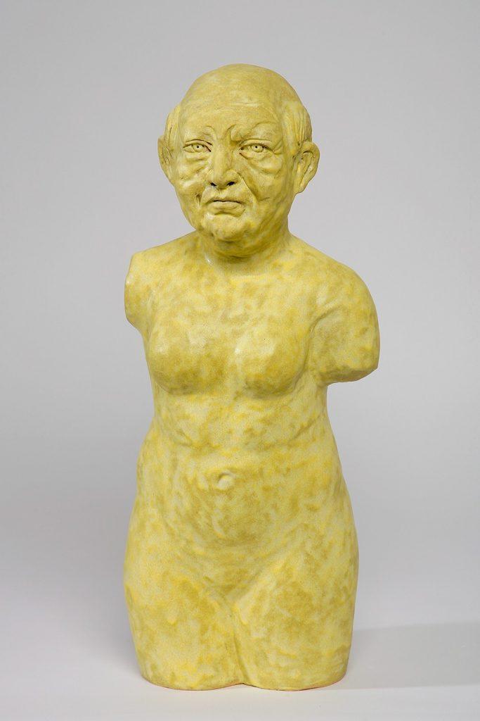 Akio Takamori Yellow Man