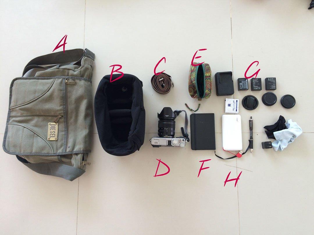 Messenger camera bag for Humanitarian photographer Bryon Lippincott
