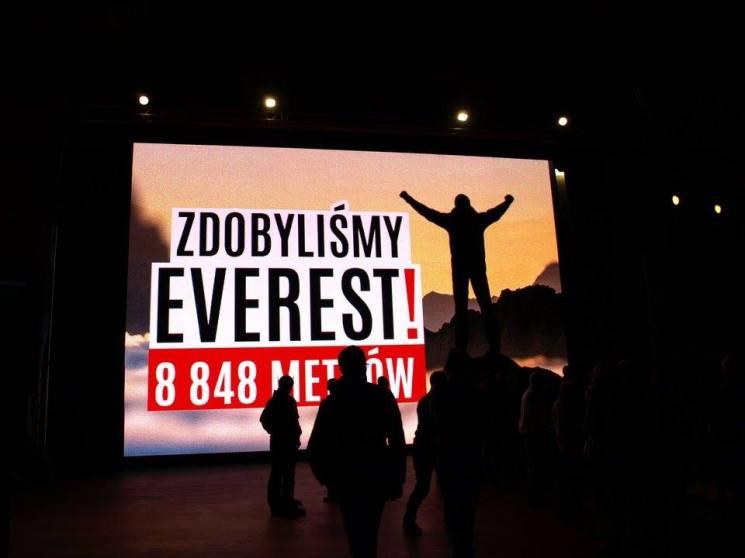 Everest zdobyty