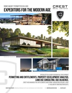 Crest Real Estate Los Angeles Architectural Digest Ad