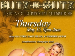 Starlight Room Blitz n Glitz San Francisco Graphic Design Promo
