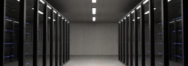 Web hosting server room
