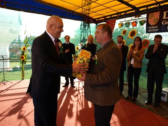 Święto plonów Dożynki Powiatowo-Gminne Dobrzyń 2012