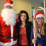 Mikołaj odwiedził starostwo i brzeski szpital
