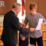 Laureaci Konkurs W Przedmiotowych Nagrodzeni Przez Burmistrza