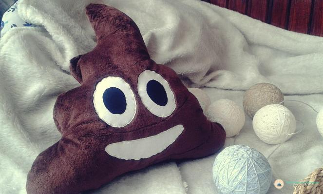 diy poop emoji pillow