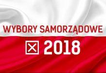 wybory samorządowe 2018, flaga, wybory, x