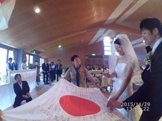 儀礼は田中団委員長と北野隊長で取り仕切っていただきました(写真は田中団委員長撮影)