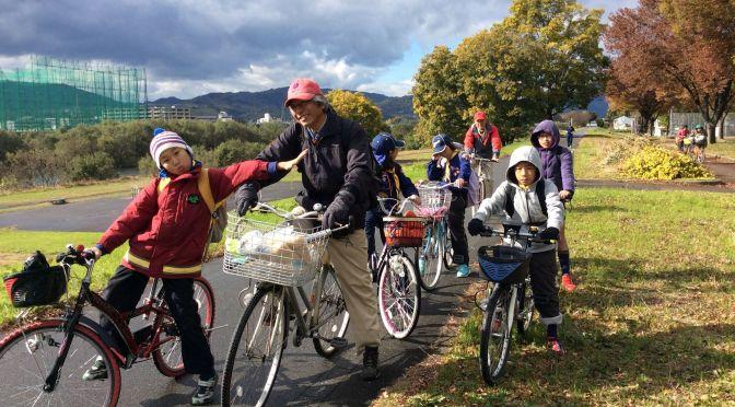 【活動報告】カブ隊のサイクリング「枚方から嵐山へ!!」