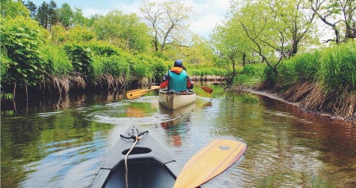Shibetsu Hokkaido Trip - Canoeing in the Jungle of Pogawa