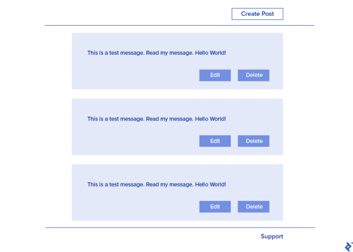 Create, Edit, or Delete a message