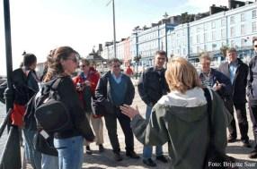 Fachkundig wurden wir nicht nur an Orte mit bekanntem Titanic-Bezug geführt, wir erfuhren viel über die Geschichte des Städtchens und die Bedeutung der Schiffahrt für den Ort.