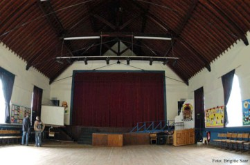 Die Memorial Hall dient heute als Aula der benachbarten Schule.