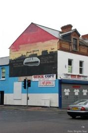 In Belfast ist die Titanic wirklich immer und überall.
