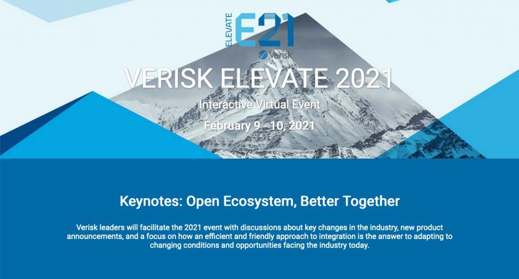 BSA Claims Service sponsors Verisk Elevate 2021