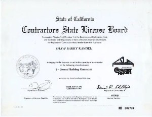 Barry Shaw CA CG license
