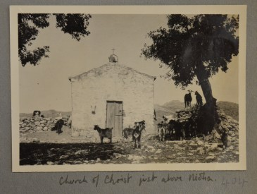 Near Ideon Cave, May 1932 (PEN 7/2/4/404). Copyright: British School at Athens