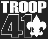 Troop 41 Logo Black Background