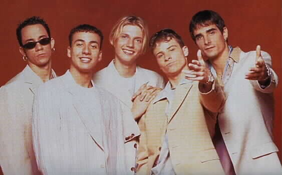 Flashback Friday: @BackstreetBoys head to Asia in 1996