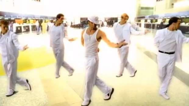 "Happy 21st birthday to @BackstreetBoys' ""I Want It That Way"""