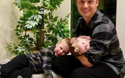 10 times @NickCarter was the world's most adorable father