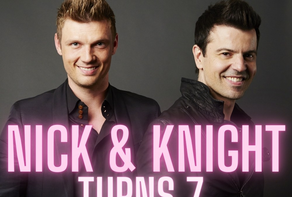 @NickCarter and Jordan Knight's joint project, Nick and Knight, Celebrates 7 years