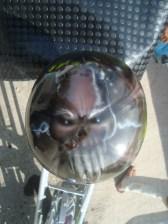 casco calavera moto triciclo 02