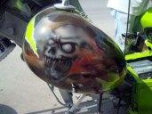Moto Triciclo Calaveras 010