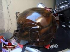 aerografia en casco
