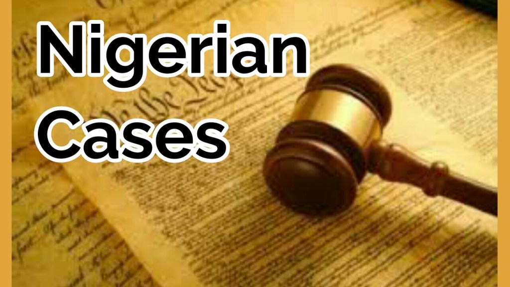 Conditions for granting bail in Nigeria
