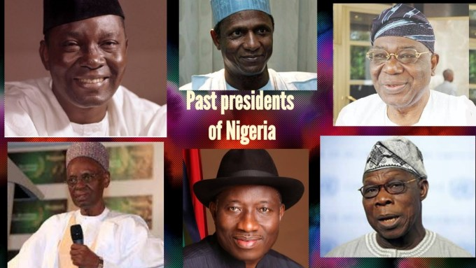 Leaders of Nigeria from 1960 till Date