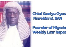 Nigeria weekly law report 2017, 2018, 2019, 1996