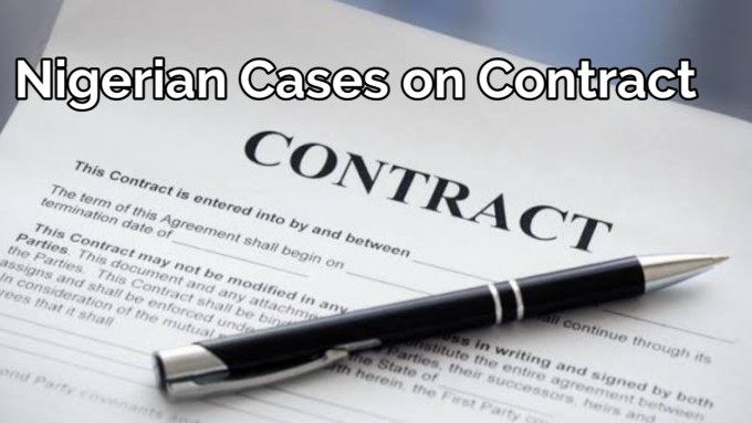 Classifications of contract law
