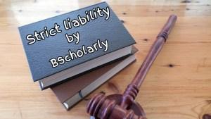 Rule in Ryland v Fletcher in strict liability defences