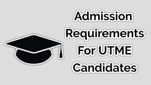 What are the requirements for admission in UNILAG?