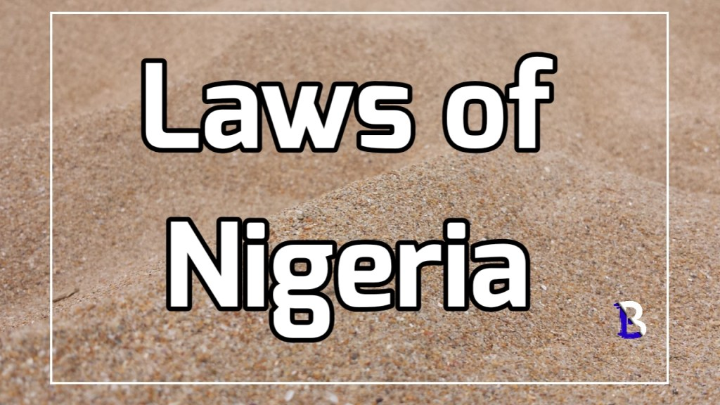I Ouster clauses in the 1999 constitution of Nigeria