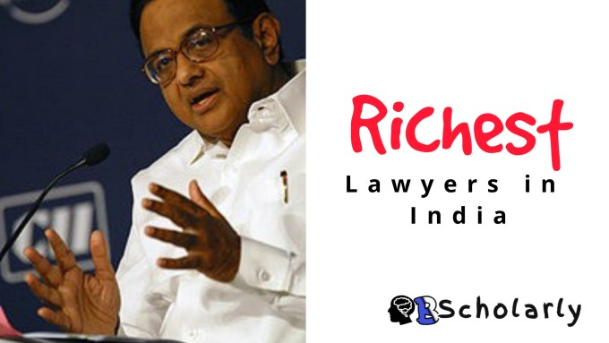 Wealthiest Lawyers in India