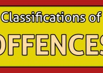 classifications of offences