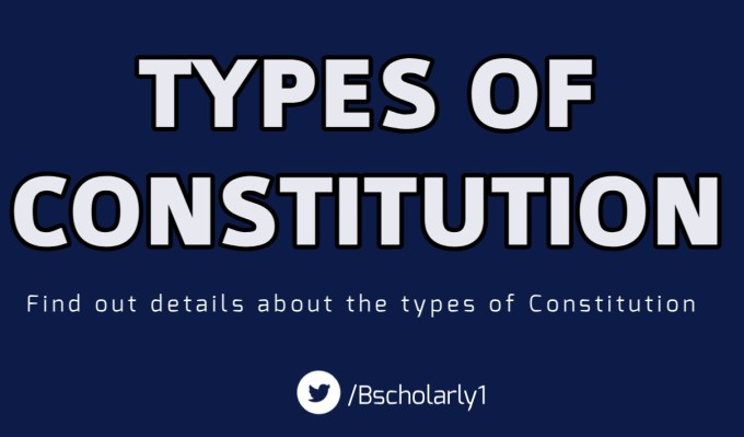 Types of Constitution