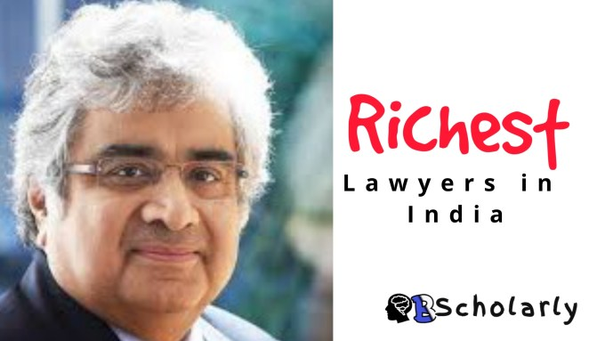 who is the richest lawyer in India_