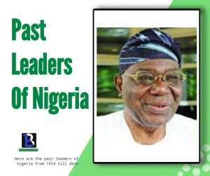 pictures of the past leaders of nigeria