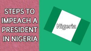 process of impeachment in Nigeria