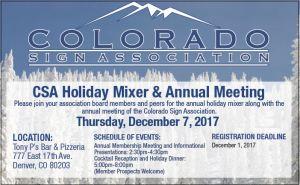 Colorado Sign Association event
