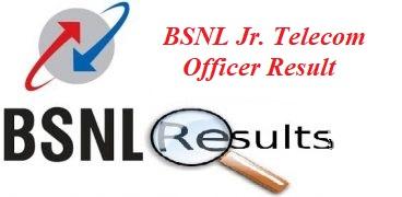 BSNL Junior Telecom officer Result 2019